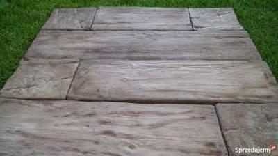 Deska Betonowa Płyty Chodnikowe Tarasowe Drewnopodobne